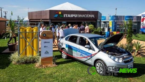 Veículos a biometano da Itaipu circularam o equivalente a cinco voltas na Terra