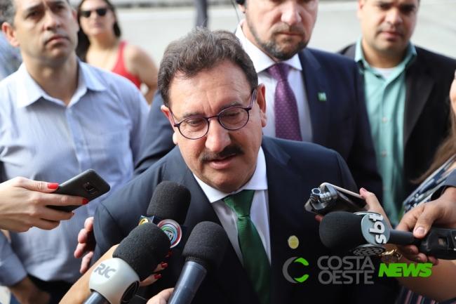Ratinho destaca plano de governo popular do filho