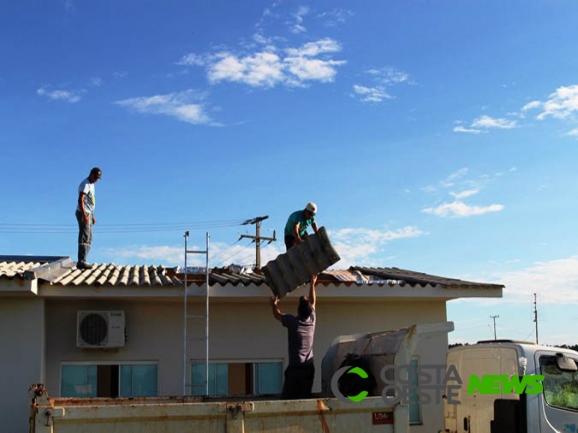 Itaipulândia: município auxilia comunidade de Jacutinga após vendaval