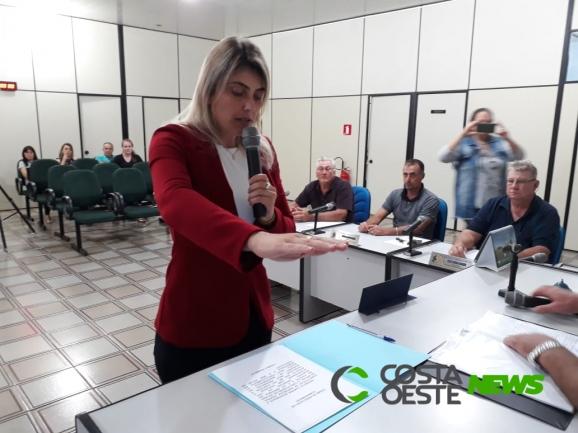 Josiane Kochhann assume como prefeita de Serranópolis do Iguaçu
