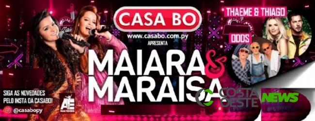 Foz do Iguaçu: Maiara e Maraísa  e Thaeme e Thiago se apresentam em show beneficente