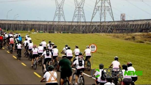 Circuito Ciclístico na Usina de Itaipu está com inscrições abertas