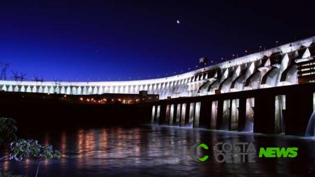 Turistas poderão acompanhar desligamento de luzes da Itaipu na Hora do Planeta