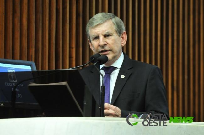 Elio Rusch assumirá cadeira na Assembleia Legislativa do Paraná