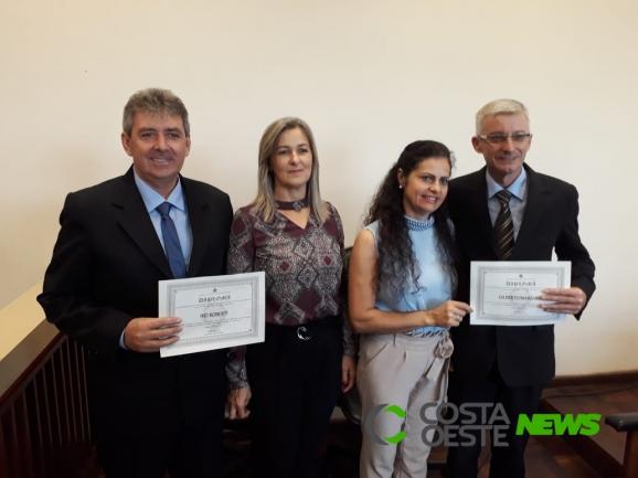 Justiça Eleitoral diploma eleitos em Serranópolis do Iguaçu