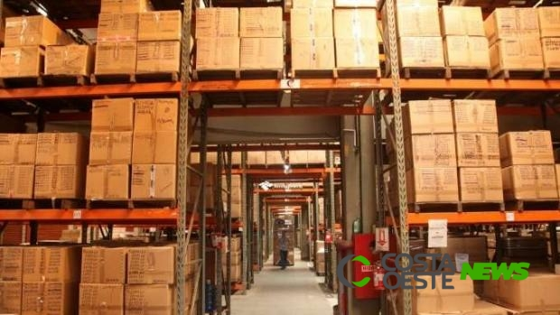 Receita Federal de Foz do Iguaçu doa R$ 4 milhões em mercadorias