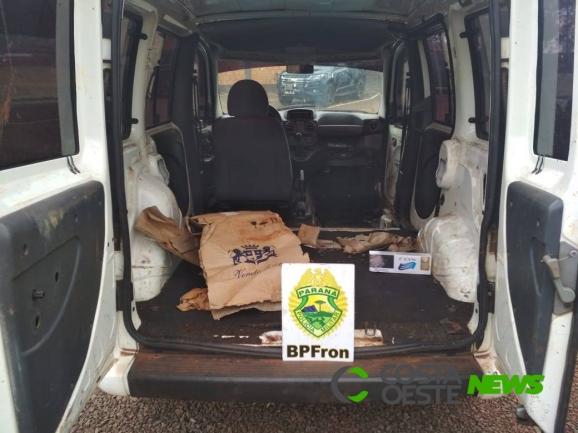 BPFron apreende veículo preparado para o contrabando em Pato Bragado