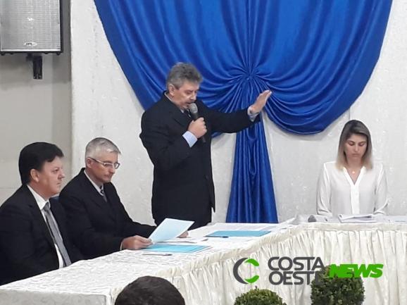 Ivo Roberti é empossado prefeito de Serranópolis do Iguaçu