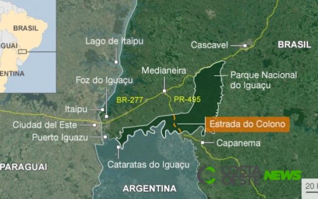 Estrada do Colono: Governador, ministro do Turismo e Diretor Geral da Itaipu apoiam projeto