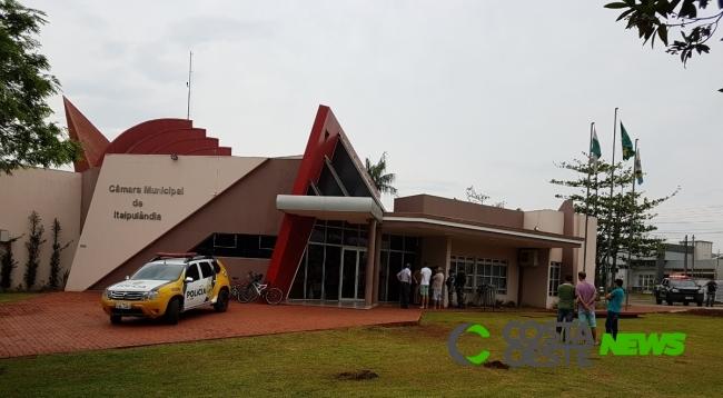 Sessão Extraordinária define amanhã (29) cassação ou não de vereador de Itaipulândia