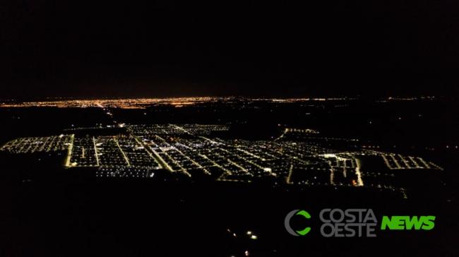 Santa Terezinha é a primeira cidade no Paraná com iluminação 100% em LED