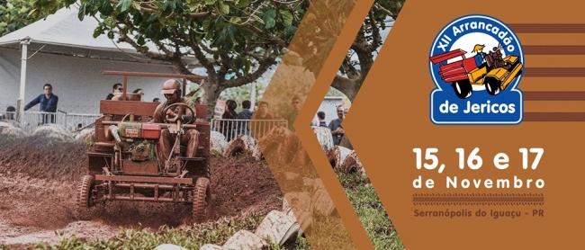 Faltam poucos dias para o XII Arrancadão de Jericos de Serranópolis do Iguaçu