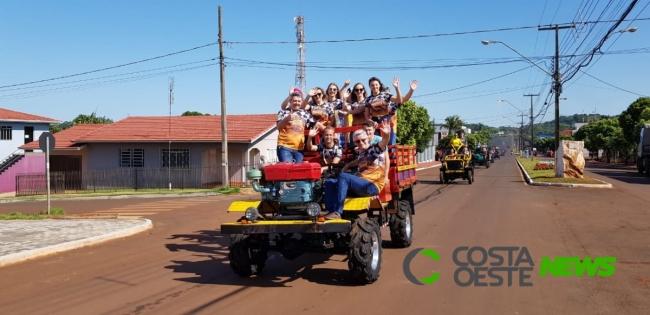 Foi dada a largada para o XII Arrancadão de Jericos de Serranópolis do Iguaçu