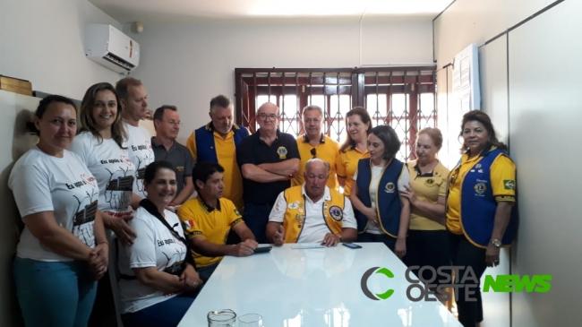 Lions repassa verba para obra da nova escola da AMESFI