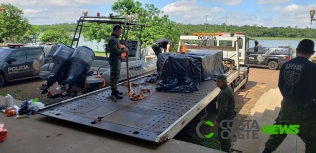 Itaipu repassa para Batalhão de Fronteira as instalações da Base Náutica de Entre Rios do Oeste