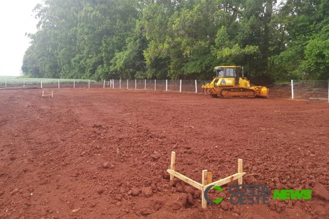 Começa construção de trincheira em Santa Terezinha de Itaipu