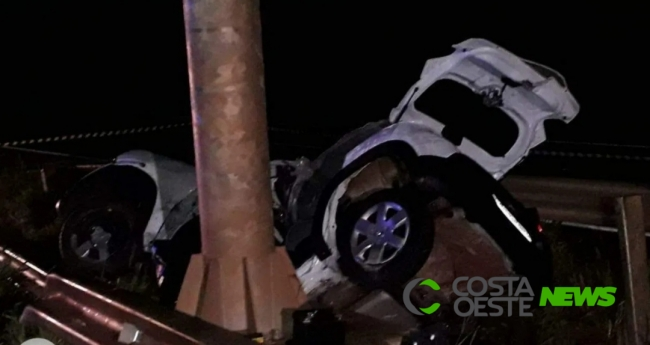 Mulher morre em grave acidente na BR 277 em Santa Terezinha de Itaipu