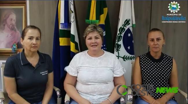 Itaipulândia suspende aulas na rede municipal de ensino a partir de quinta-feira (19)