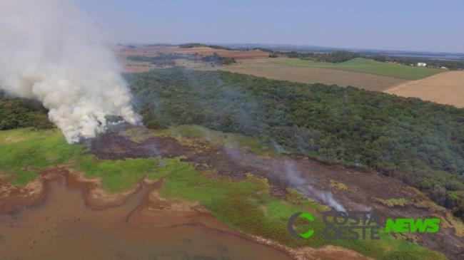 Incêndio é registrado em Itaipulândia