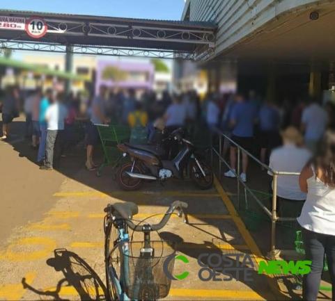 Mesmo com Decreto municipal, é grande o movimento no centro de Marechal Rondon