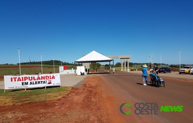 Começa a restrição no acesso à Itaipulândia com realização de barreira sanitária