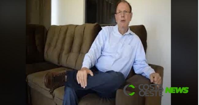 Empresário de Santa Terezinha com Covid-19 fala sobre sintomas em vídeo