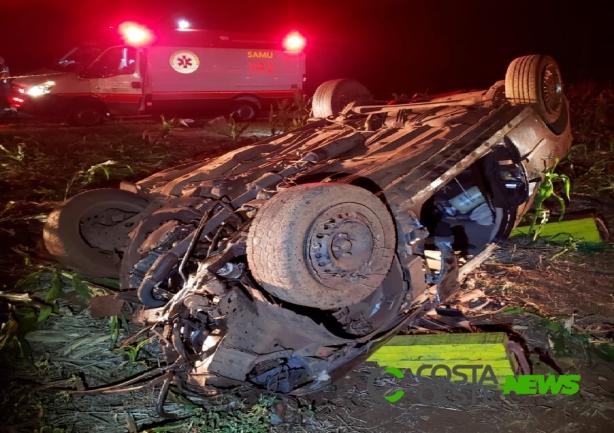 Santa-helenense de 22 anos morre após capotar veículo na PR-495