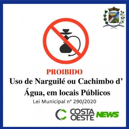 Vereadores aprovam lei que proíbe a utilização de Narguilés em locais públicos em Diamante do Oeste
