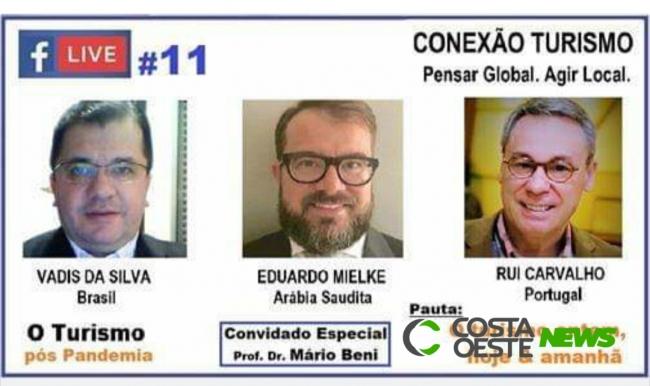 Live #11 ??? O turismo ontem, hoje e amanhã - Convidado Especial: Prof. Dr. Mário Beni, Membro do Conselho Nacional de Turismo