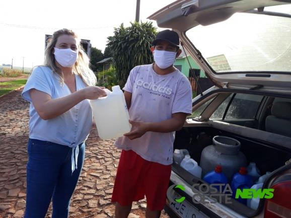 UTFPR faz doação de produtos de limpeza e máscaras para entidades da região