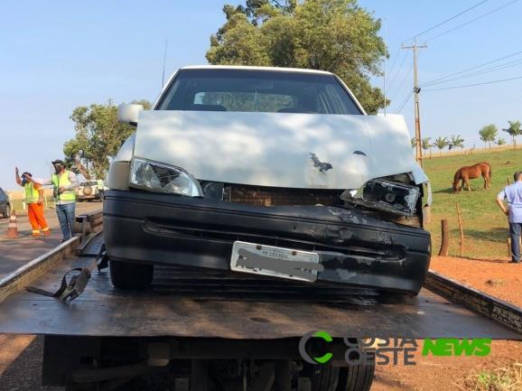 Após acidente com vítimas, condutor é detido pela PRE pelo crime de embriaguez em Céu Azul