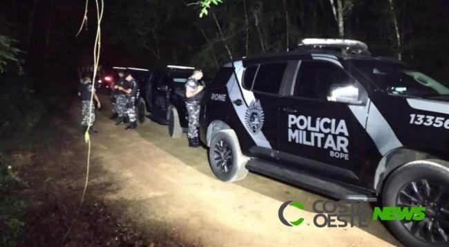 Traficante morre em troca de tiros com a PM em Entre Rios do Oeste