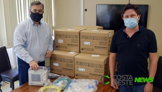 Estado repassa ventiladores respiratórios portáteis ao Consamu Oeste