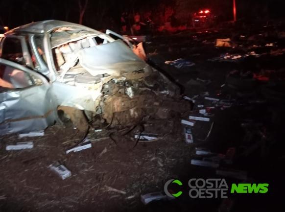 Jovem morre após capotar veículo em Guaíra