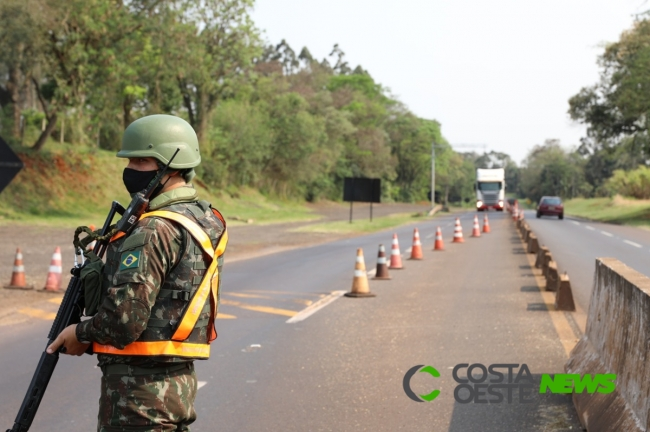Operação Fronteira Sul/ Ágata fortalece a presença do Estado na faixa de fronteira do Oeste do Paraná