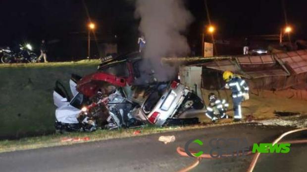 Identificado casal que morreu em acidente na BR 277 em Cascavel