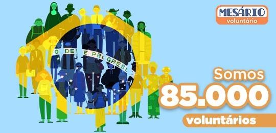 Paraná tem recorde de inscrições de mesários voluntários para Eleições 2020
