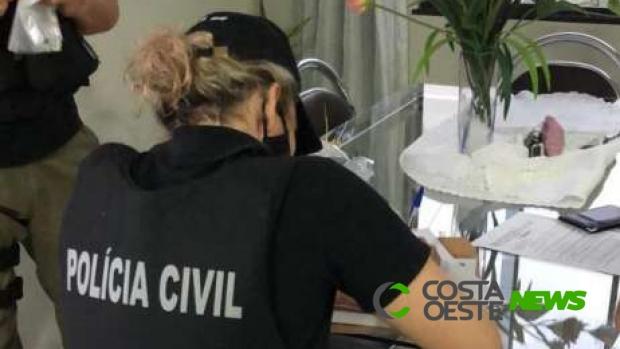 Polícia Civil deflagra operação que apura fraude de licitação em Santa Terezinha de Itaipu