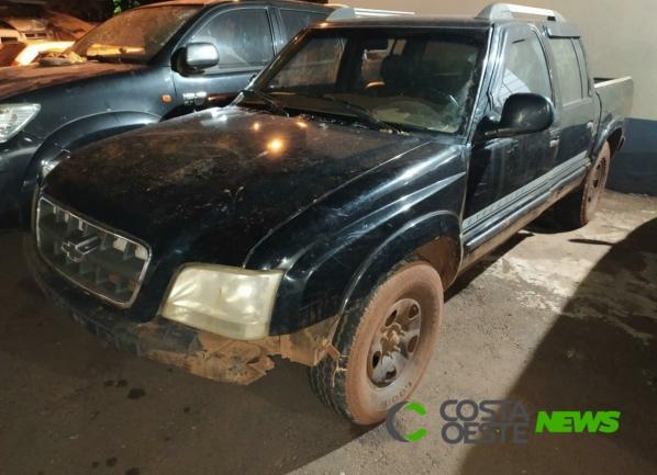 S-10 com alerta de furto é recuperada pela Polícia Civil em Santa Helena