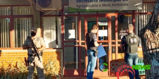 Gaeco desencadeia operação em Santa Terezinha de Itaipu
