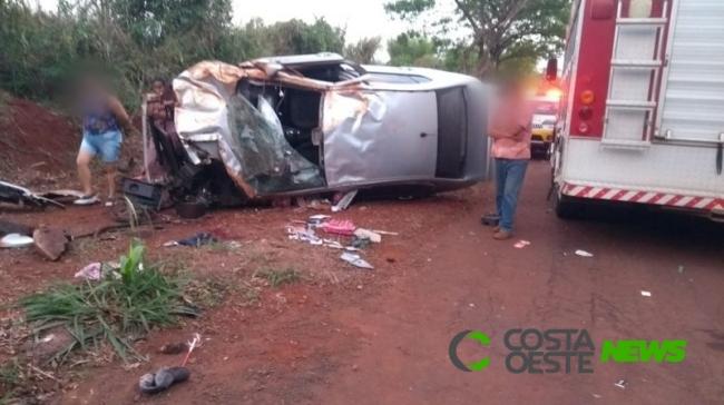 Criança morre em grave acidente em Guaíra