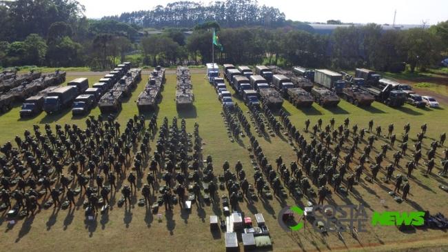 15ª Brigada de Infantaria Mecanizada realiza formatura de apronto operacional