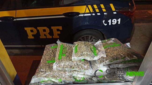 PRF prende dupla após perseguição de quase 30 km no Paraná