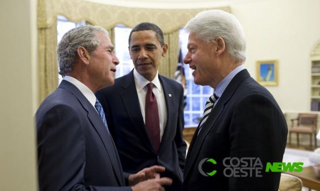 Ex-presidentes americanos parabenizam Joe Biden pela eleição