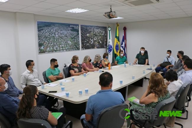 Equipe de transição de governo tem primeira reunião oficial em Medianeira