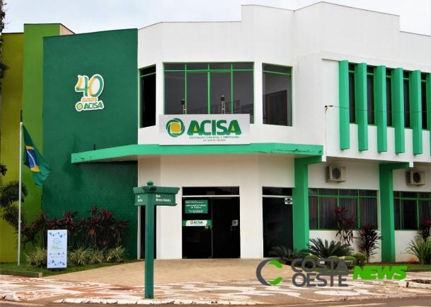 Em obediência a decreto Acisa cancela eventos na entidade até 11 de dezembro