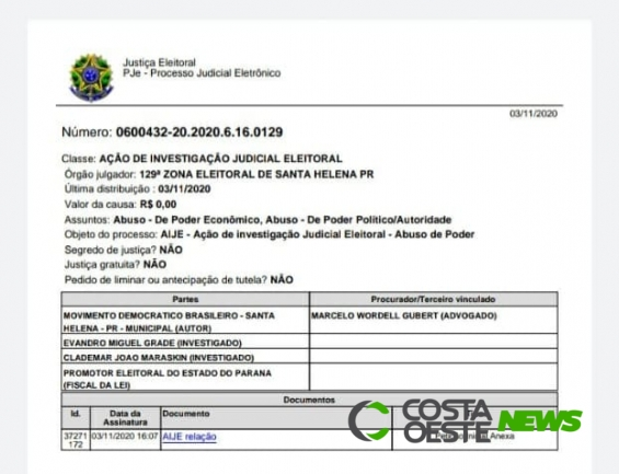 Partido MDB consegue liminar que suspende convocação de inscritos no Auxílio Emergencial em Santa Helena
