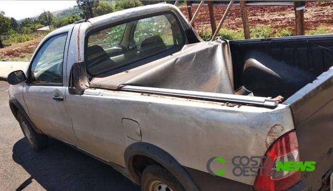 Veículo é recuperado pela Polícia Militar em São José das Palmeiras