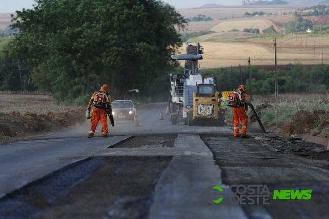 Governo do Paraná recupera a PR-495, corredor do agronegócio da Região Oeste