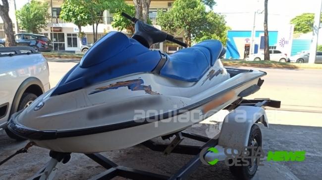 Dono de moto aquática que atropelou criança em Entre Rios do Oeste é solto após pagar fiança